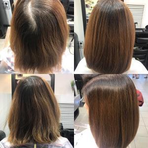 окрашивание волос, салон красоты Сумы