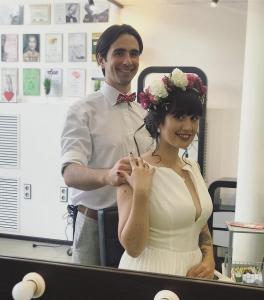 свадебные прически Сумы, свадебный макияж, создание свадебного образа Сумы, салон красоты Сумы