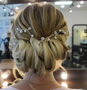 свадебная прическа, салон красоты Сумы, Релакс