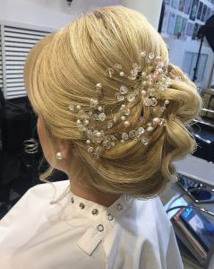 свадебная прическа, вечерняя прическа, салон красоты Сумы, Релакс