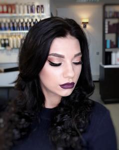 вечерний макияж, визажист Сумы, салон красоты Сумы, салон красоты Релакс
